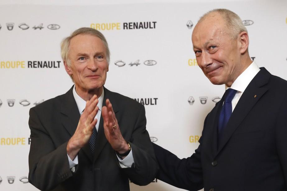 Le nouveau président du conseil d'administration de Renault... (Photo Christophe Ena, AP)