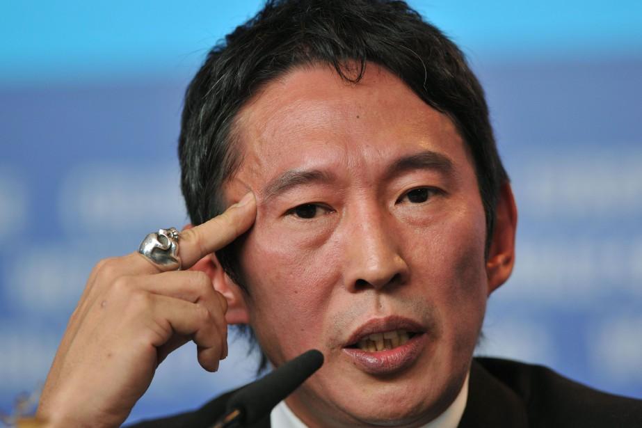 Le réalisateur taïwanais Doze Niu à la Berlinale... (Photo GERARD JULIEN, archives AFP)