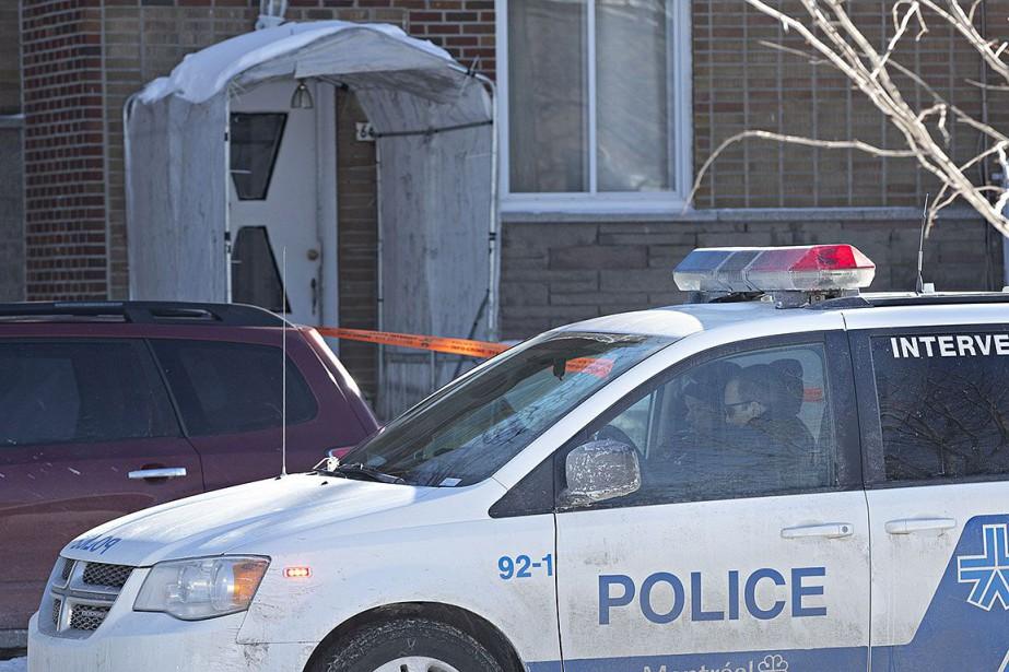 Il s'agit du 2e homicide commis cette année... (photo PATRICK SANFAçon, la presse)