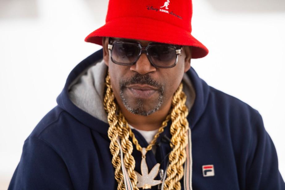 Grandmaster Caz, pionnier du rap, est l'un des... (Photo ANDREW CABALLERO-REYNOLDS, AFP)