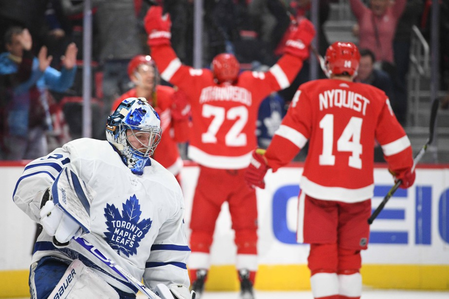 Le défenseur des Red Wings Danny DeKeyser a... (Photo TimFuller, USA TODAY Sports)