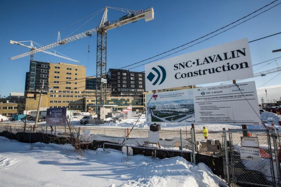 Le CUSM en construction, photographié en janvier2013... (Photo Olivier PontBriand, archives La Presse)