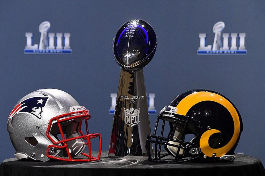 Le coup d'envoi du Super BowlLIII opposant les... (Photo USA Today Sports)