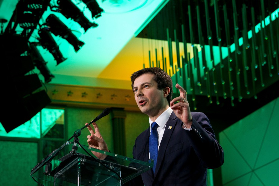 Pete Buttigieg, maire de 37 ans de la ville... (Photo Jose Luis Magana, Associated Press)
