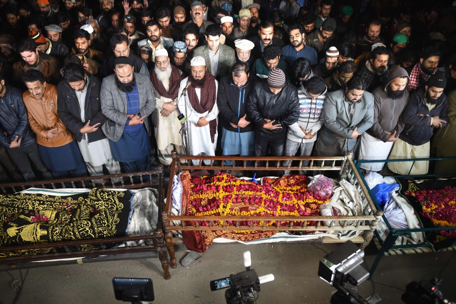 À Sahiwal, trois enfants ont survécu le 19janvier... (Photo ARIF ALI, Agence France-Presse)