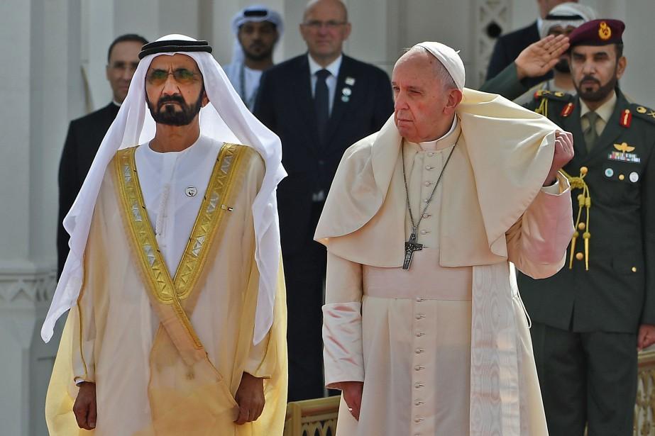 Le pape François a eu un entretien avec... (Photo VINCENZO PINTO, Agence France-Presse)