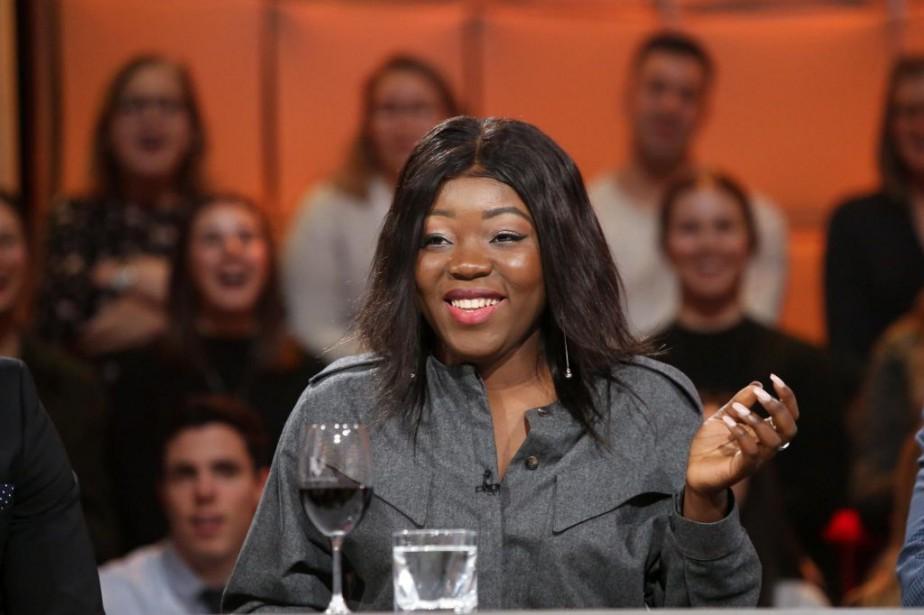 La comédienneRachelMwanza... (Photo KarineDufour, fournie par ICI Radio-Canada Télé)