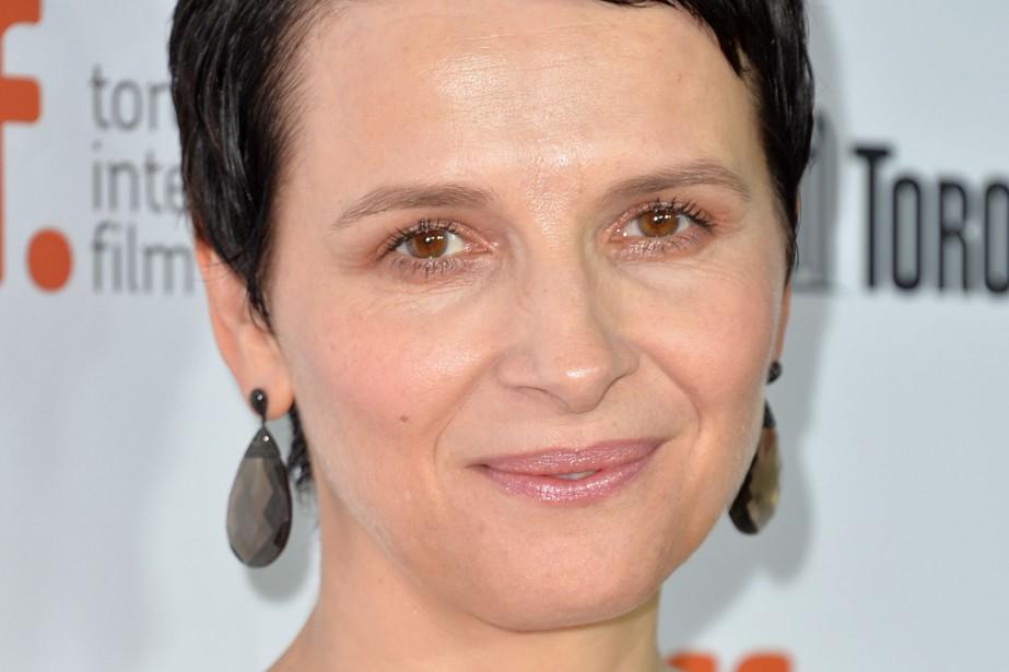 L'actrice française Juliette... (Photo ALBERTO E. RODRIGUEZ, archives AFP)