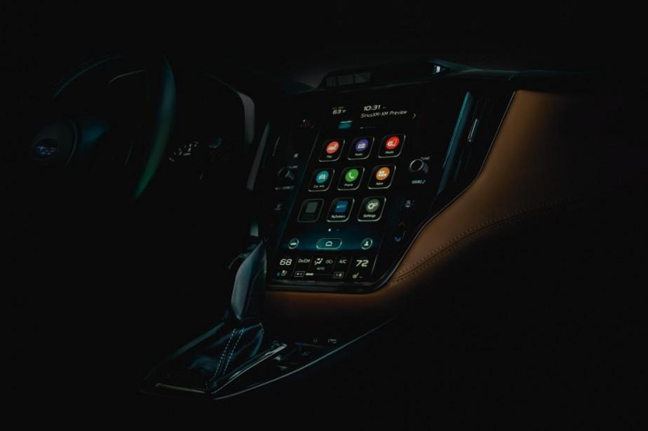 Tout ce que Subaru a montré de la... (Photo Subaru)