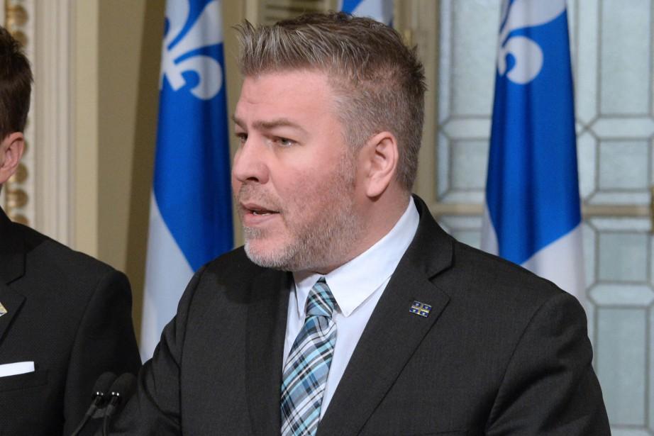 Le chef parlementaire du Parti québécois, Pascal Bérubé.... (Photo Pascal Ratthe, Le Soleil)
