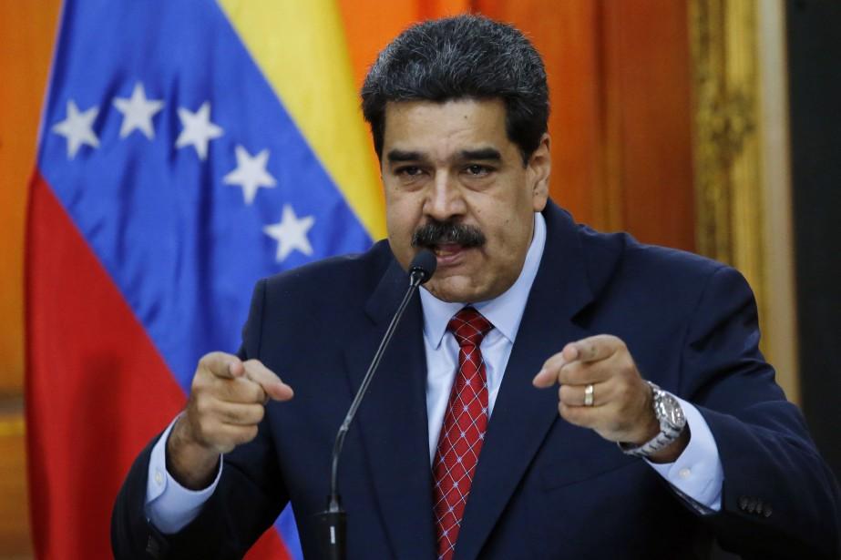 Nicolas Maduro... (PHOTO AP)