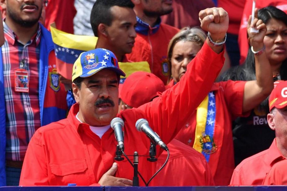 La pression augmente sur le régime de Nicolás... (PHOTO AFP)