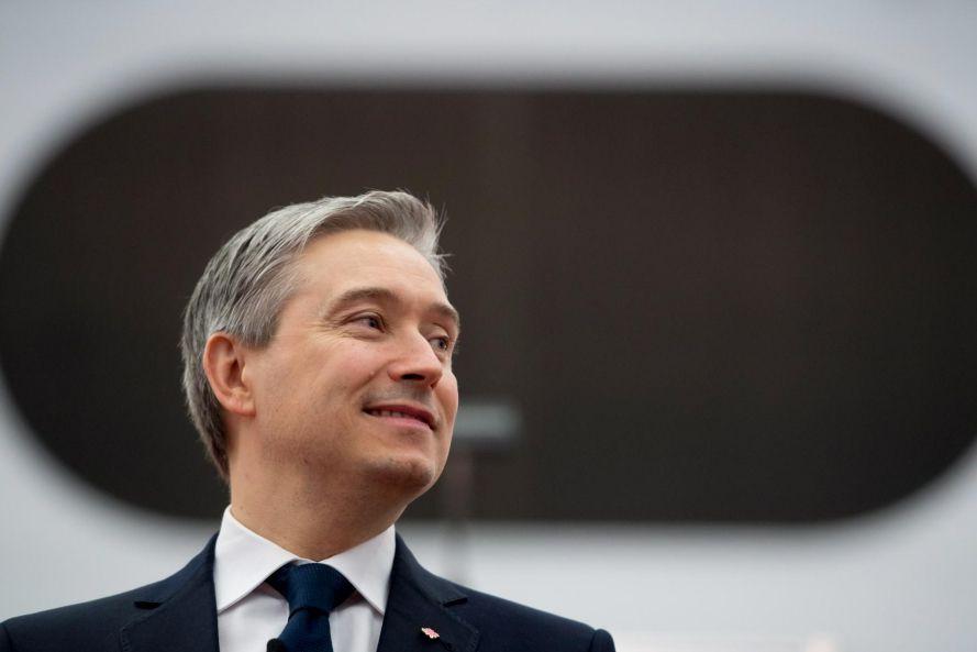 François-Philippe Champagne,ministre des Infrastructures et des Collectivités etdéputé... (PHOTO PC)