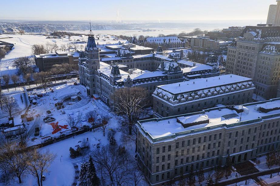 L'Assemblée nationale, à Québec.... (Photo EDOUARD PLANTE-FRECHETTE, archives La Presse)