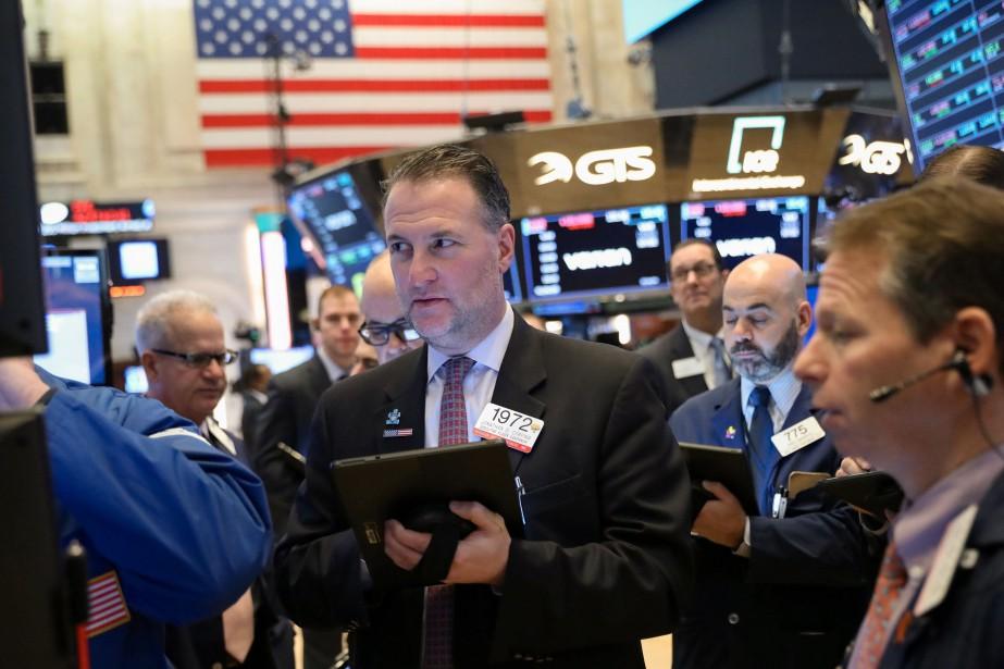 La Bourse de New York, en pleine... (Photo BRENDAN MCDERMID, archives REUTERS)