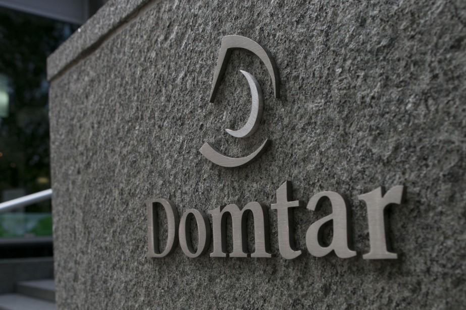 L'action de Domtar a... (Photo Hugo-Sebastien AUBERT, archives La Presse)