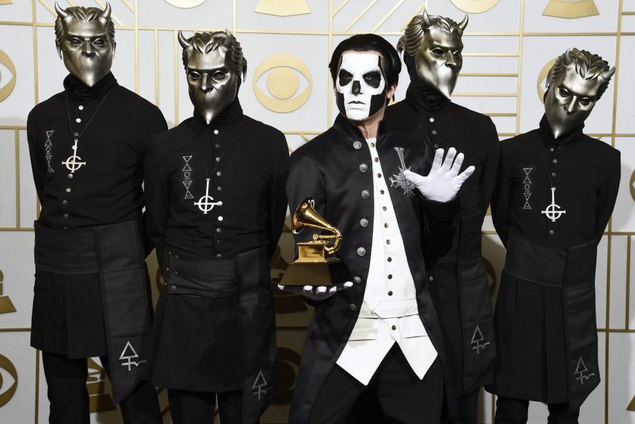 Ghost aux Grammy Awards en février 2016.... (Photo Chris Pizzello, archives AP)