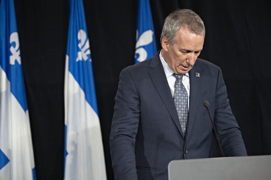 Le ministre de l'Agriculture, André Lamontagne.... (PHOTO PATRICK SANFAÇON, LA PRESSE)