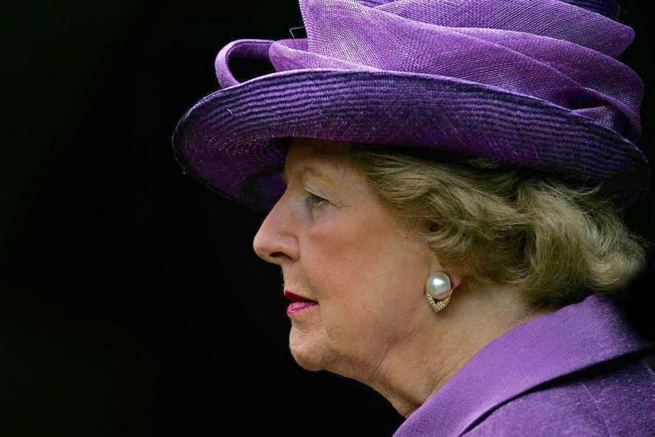 Margaret Thatcher en 2007.... (Photo Cathal McNaughton, archives Agence France-Presse)