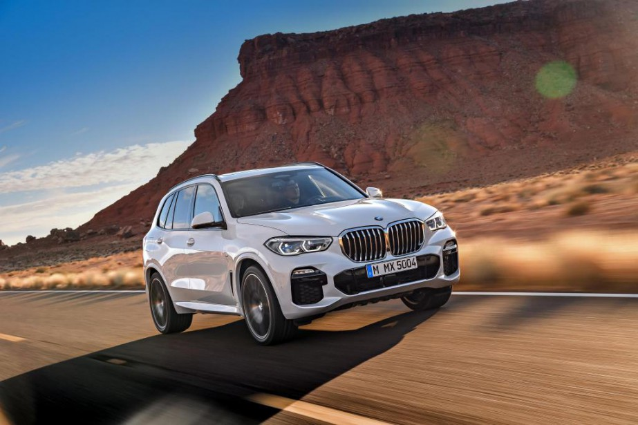 Le BMW X5 2019... (Photo fournie par BMW)