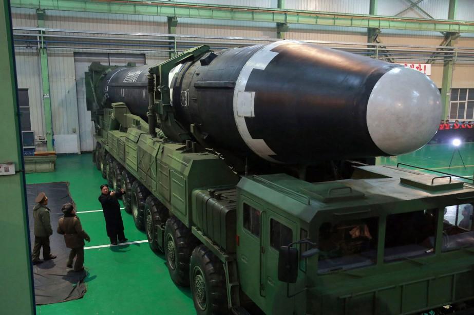 La Corée du Nord continue de violer l'embargo... (PHOTO AP)