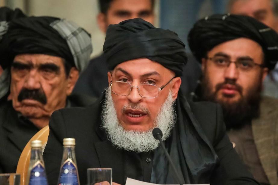 Sher Mohammad Abbas Stanikzai, chef du bureau politique... (PHOTO REUTERS)