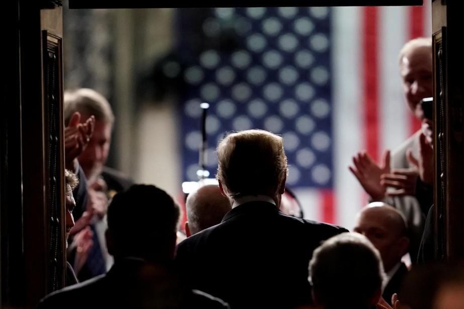 Le président Donald Trump a vanté les mérites... (Photo Joshua Roberts, REUTERS)
