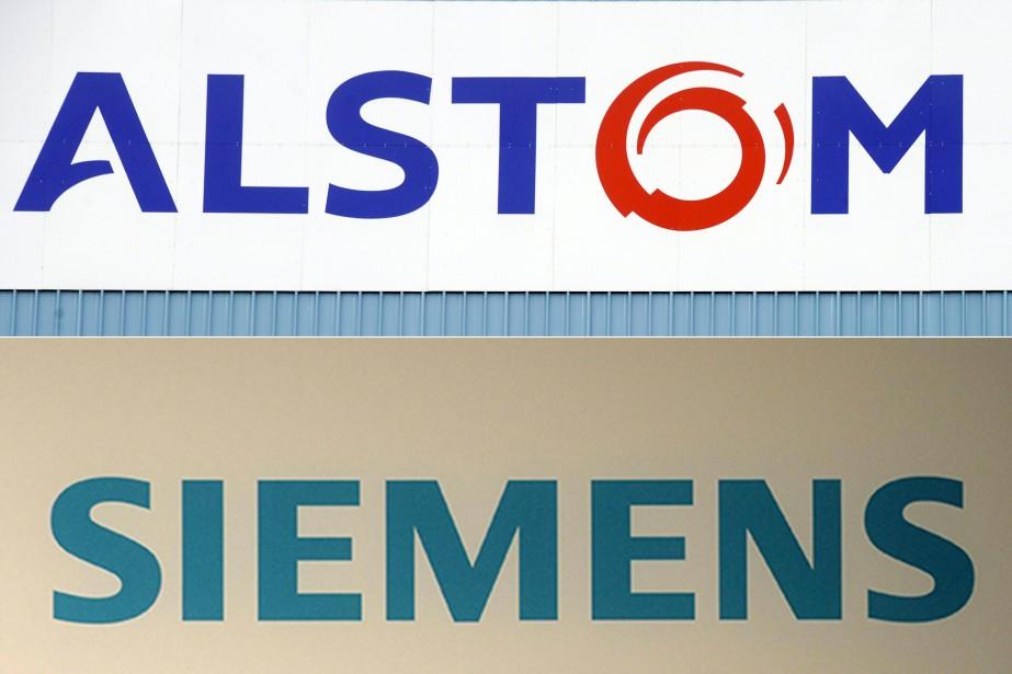 Bruxelles a interdit mercredi la fusion entre le français Alstom... (PHOTO AFP)