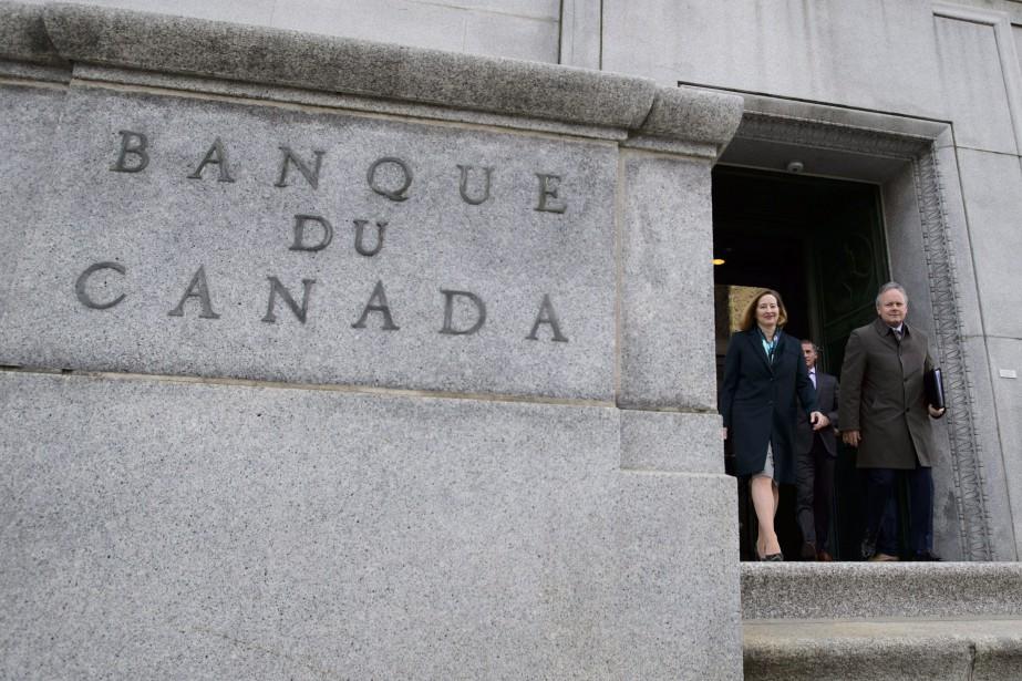 Le mois dernier, le gouverneur de la Banque... (Photo Sean Kilpatrick, La Presse canadienne)