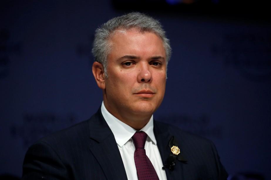Ivan Duque... (Photo ARND WIEGMANN, archives REUTERS)