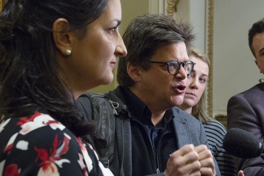 Le metteur en scène et militant écologiste Dominic... (Photo Jacques Boissinot, La Presse canadienne)