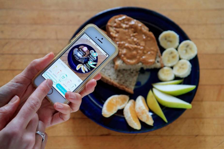 Lors de ce petit-déjeuner, l'appli Foodvisor a reconnu... (Photo Alain Roberge, La Presse)