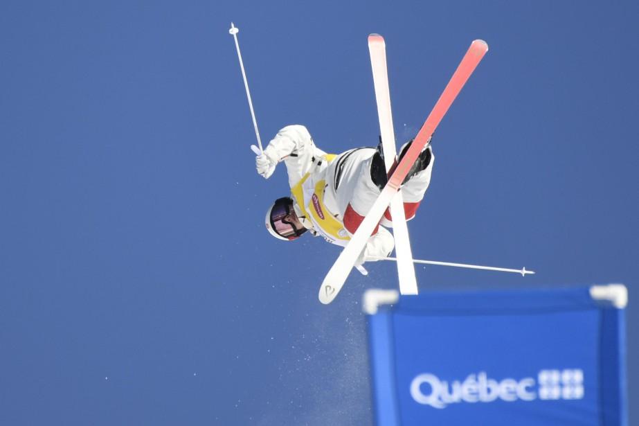 Mikaël Kingsbury a remporté l'or à la Coupe... (Photo Bernard Brault, archives La Presse)