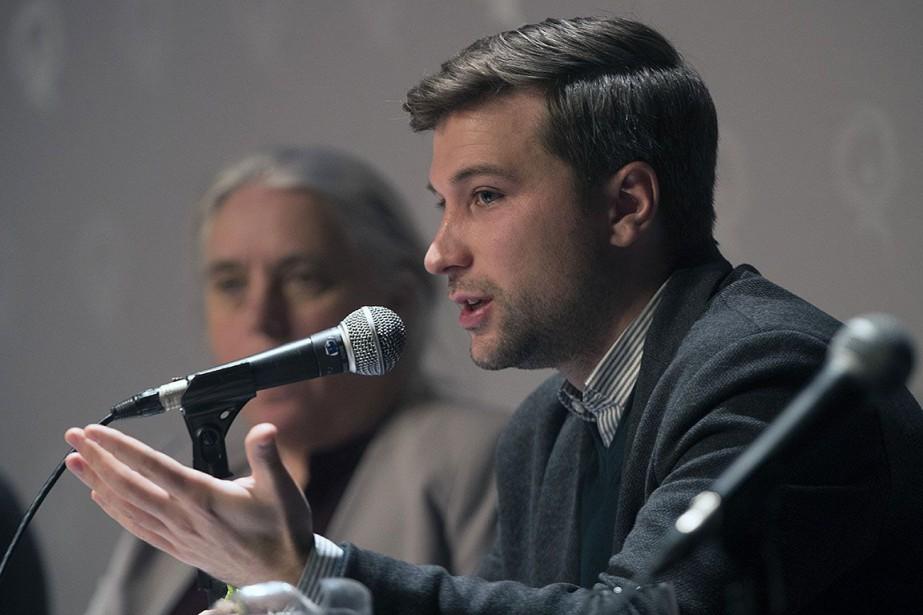Le leader parlementaire de QS, Gabriel Nadeau-Dubois.... (Photo Olivier Jean, archives La Presse)