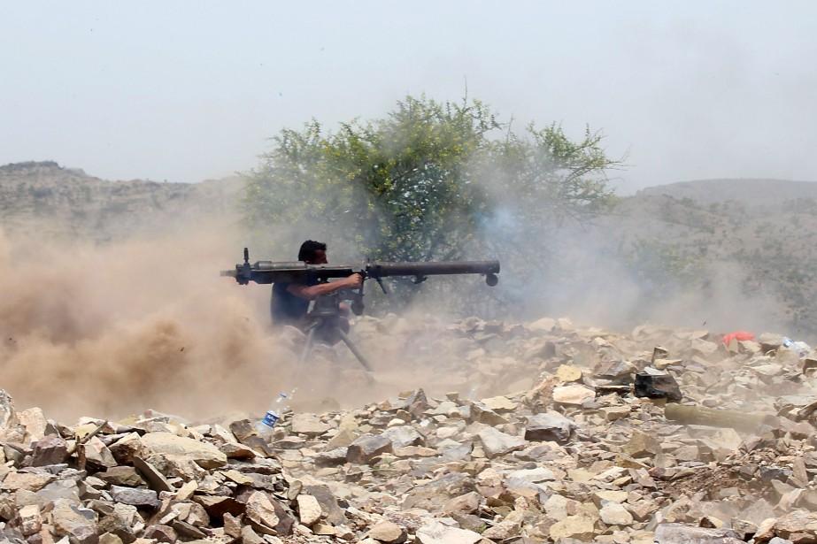 Le conflit au Yémen a fait quelque 10000... (Photo SALEH AL-OBEIDI, archives Agence France-Presse)