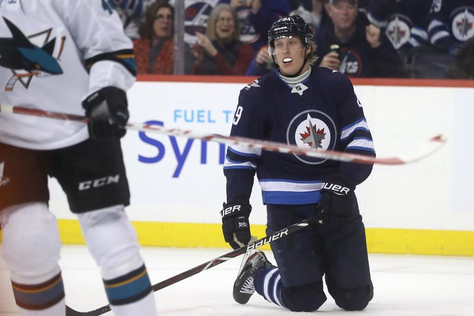 Patrik Laine n'a inscrit que quatre buts en... (Photo Trevor Hagan, La Presse canadienne)