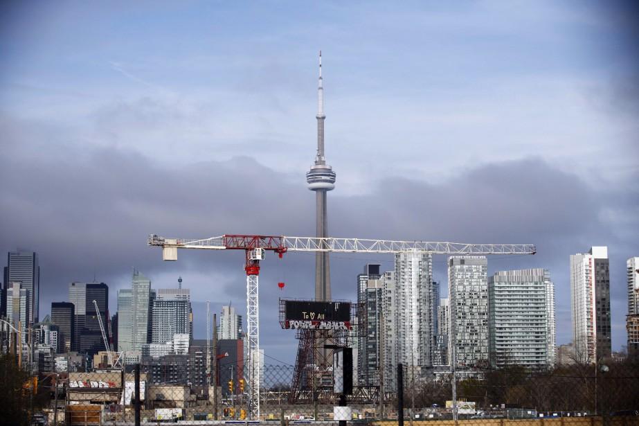 Le niveau de surévaluation de Toronto, notamment, est... (Photo COLE BURSTON, archives la presse canadienne)