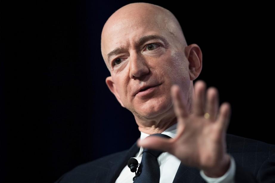 Jeff Bezos... (PHOTO AFP)