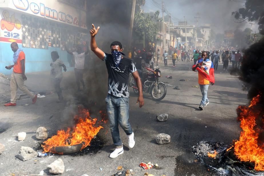 Deux personnes ont été tuées au cours de... (Photo JEANTY JUNIOR AUGUSTIN, REUTERS)