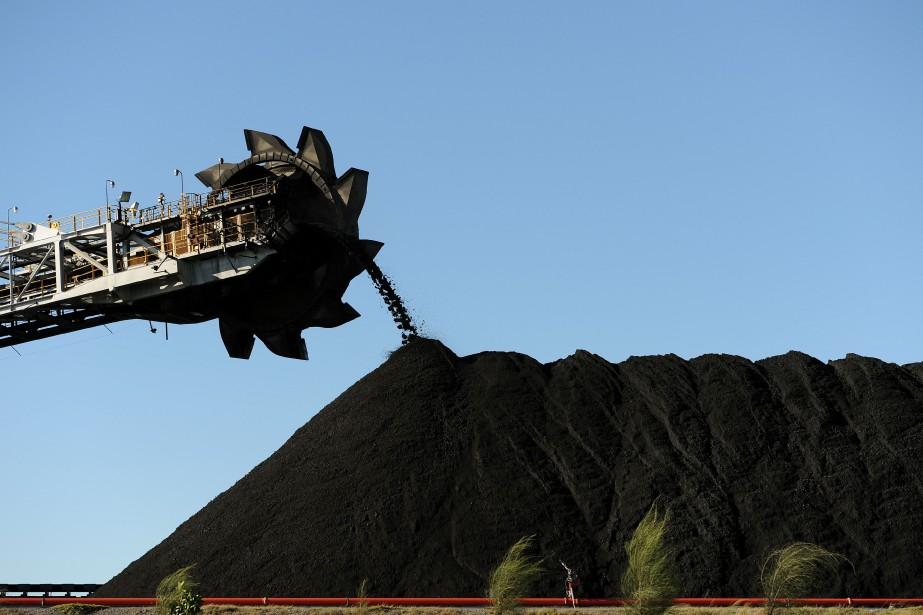 L'Australie est un des premiers producteurs de charbon... (Photo GREG WOOD, archives AGENCE FRANCE-PRESSE)