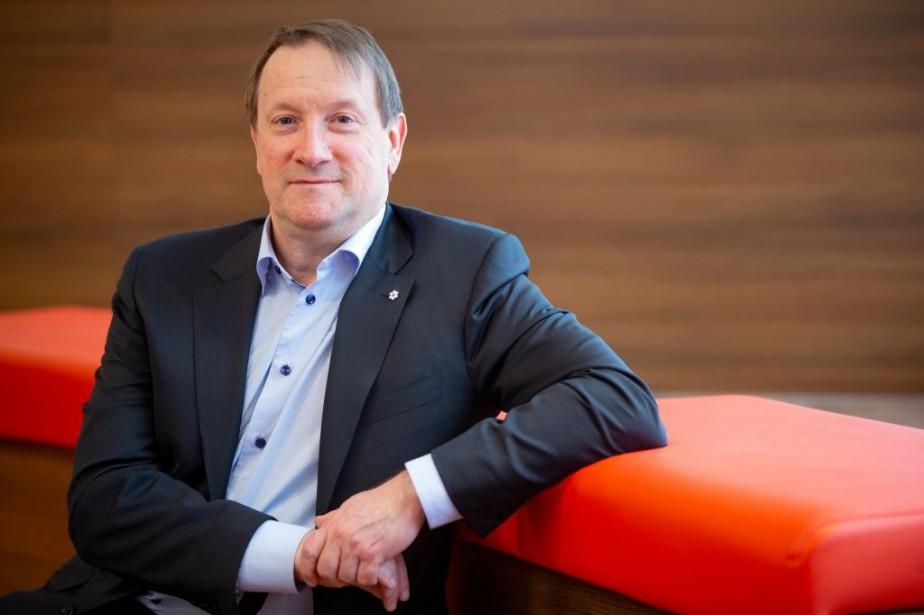 Louis Vachon, PDG de la Banque Nationale,a personnellement... (PHOTO DAVID BOILY, LA PRESSE)