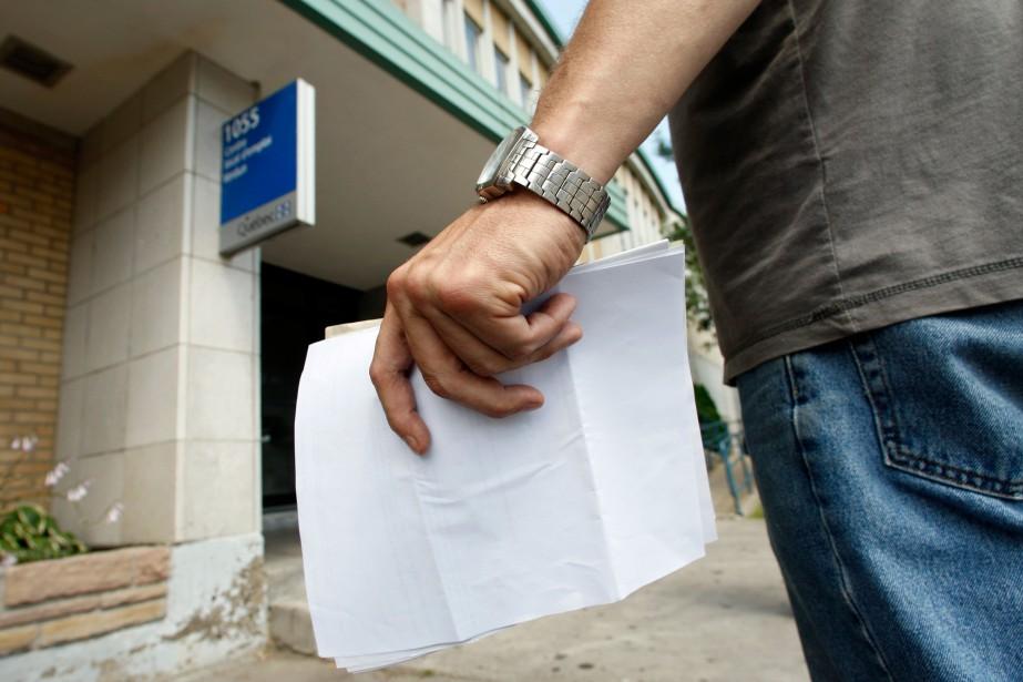 L'emploi a augmenté dans six provinces, et les... (Photo Martin Chamberland, archives La Presse)