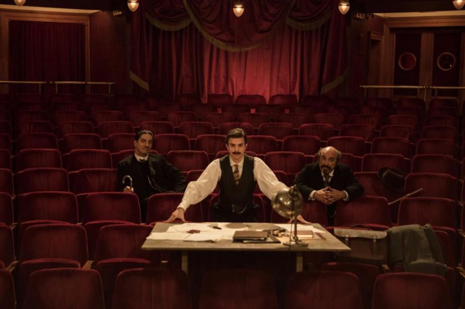 Thomas Solivérès dans Edmond, un film d'Alexis Michalik... (Photo fournie par A-Z Films)