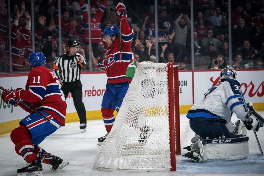 Les attentes envers le Canadien n'étaient pas très... (Photo Olivier Jean, La Presse)