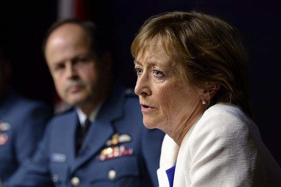 Marie Deschamps avait rédigé en 2015 un rapport... (Photo Adrian Wyld, archives PC)