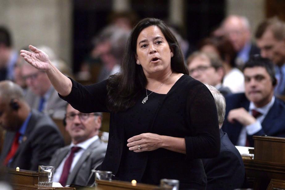 La ministre Jody-Wilson Raybould... (Photo Justin Tang, archives La Presse canadienne)