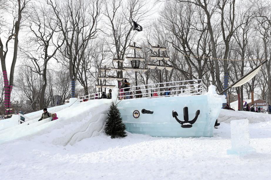 La Fête des neiges de Montréal... (Photo Robert Skinner, archives La Presse)