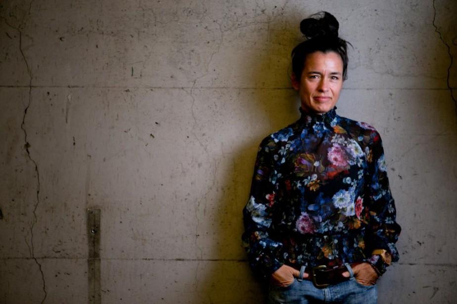 La conceptrice visuelle ElisabethWilliams.... (Photo DavidBoily, La Presse)
