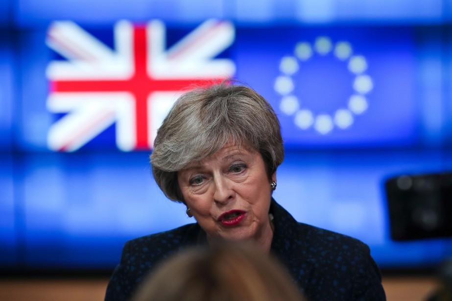 Theresa May «prétend qu'elle fait des progrès alors... (PHOTO AP)