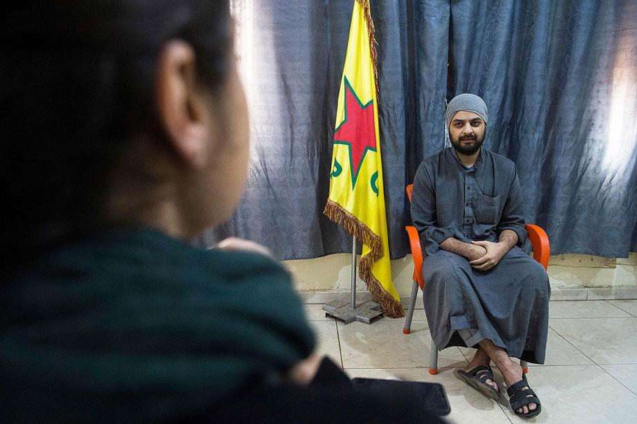Mohammad Ali, 28 ans, lors de son entrevue... (Photo FADEL SENNA, AFP)